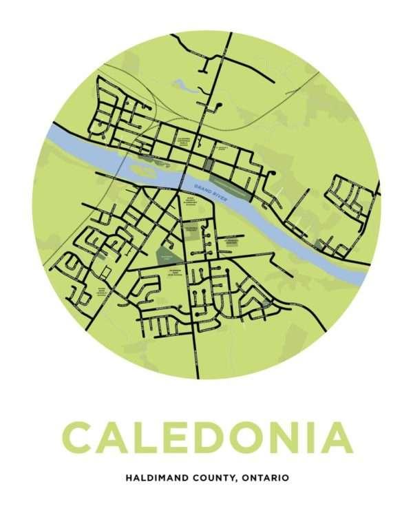 map of caledonia