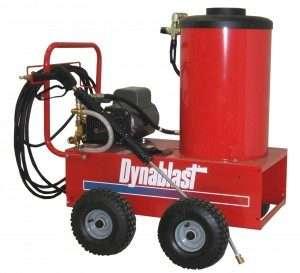 "product image of ""dynablast"" pressure washer"