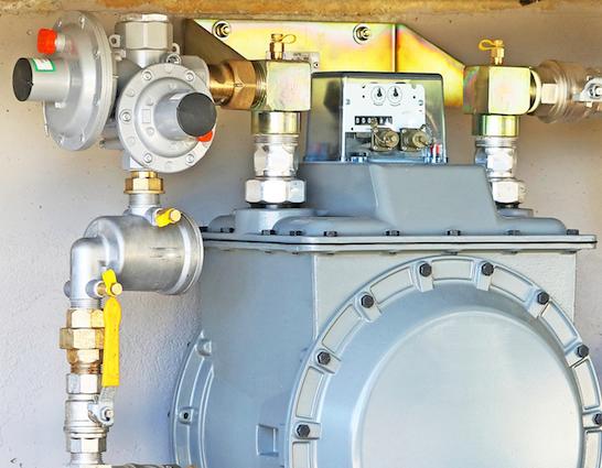 Image of gas line installation