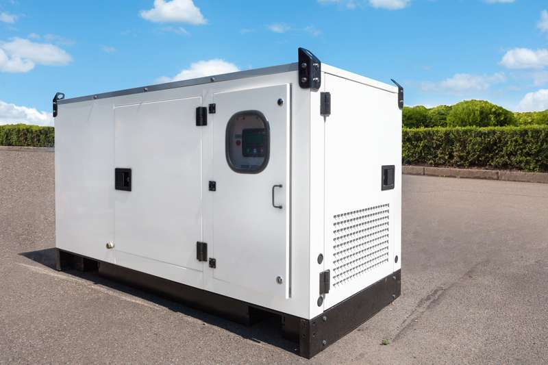 A picture of a backup generator